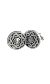 Celtic Shield Matt Cufflinks
