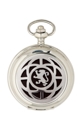 Saltire & Lion Rampant Quartz Pocket Watch