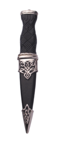 Lomond Plated Sgian Dubh With Plain Top