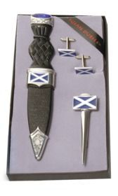 Saltire 3 Piece Gift Set With Stone Top