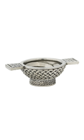 "1.25"" Celtic Mini Pewter Quaich"
