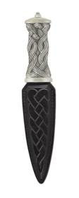 Earn Matt Pewter Dress Sgian Dubh