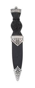 Thistle Matt Sgian Dubh With Plain Top