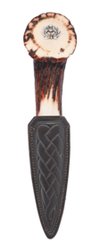Staghorn Crown Thistle Sgian Dubh