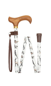 Woodlands Folding Stick