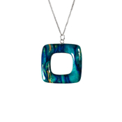 Open Square Pendant