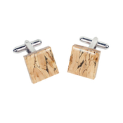 Natural Square Cufflinks