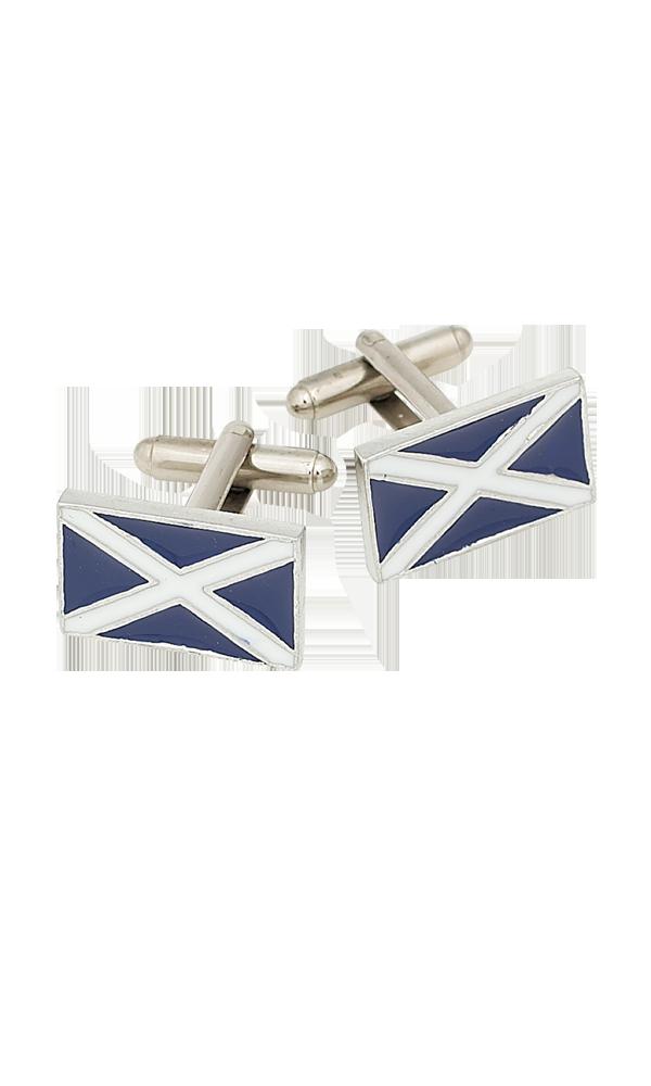 St. Andrews Saltire Enamel Cufflinks