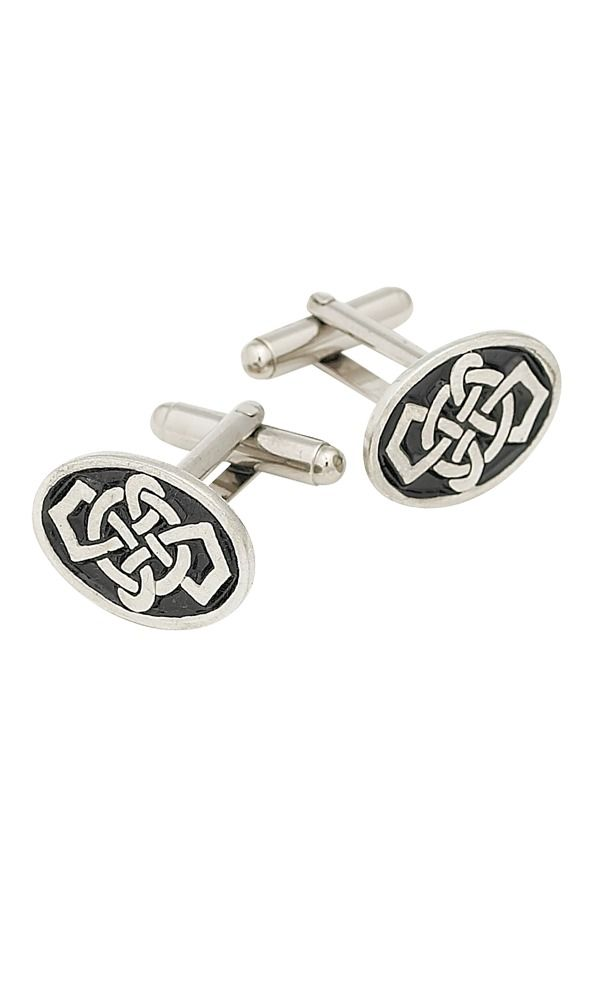 Oval Celtic Cufflinks