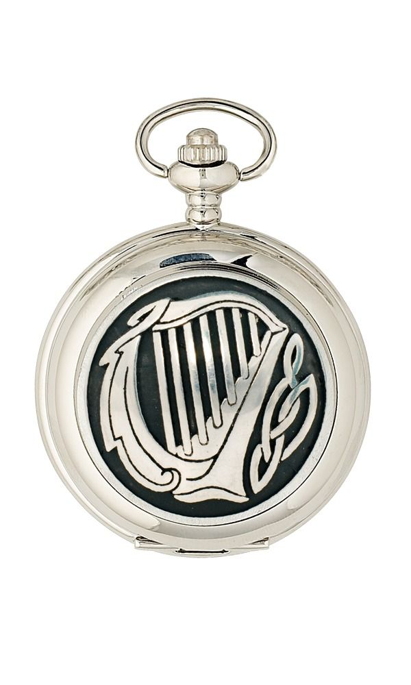 Harp Quartz Pocket Watch