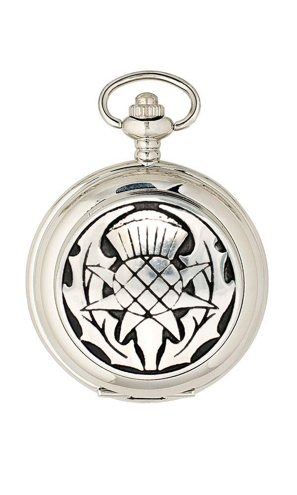 Thistle Quartz Pocket Watch