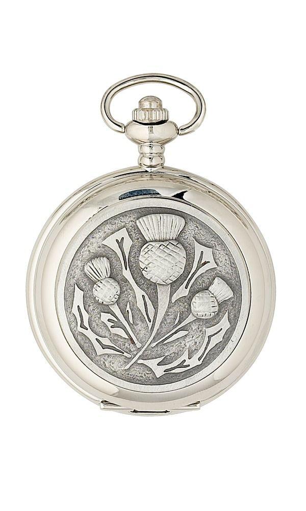 Matt Thistle Quartz Pocket Watch
