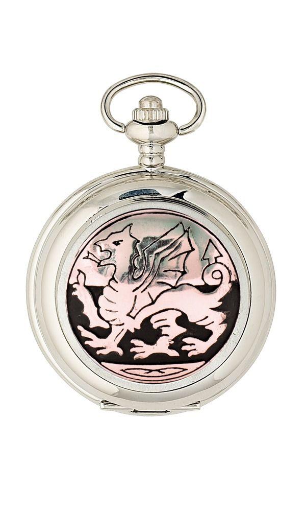 Welsh Dragon Mechanical Pocket Watch