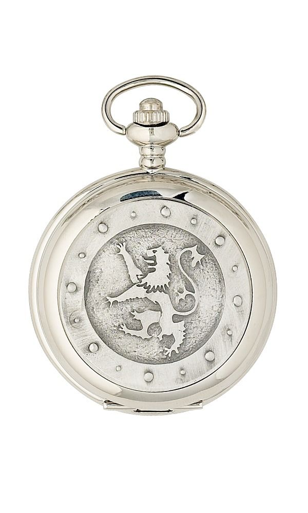 Lion Rampant Mechanical Pocket Watch