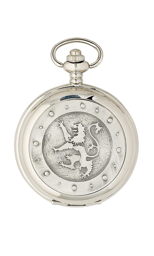 Lion Rampant Mechanical Pocket Watch