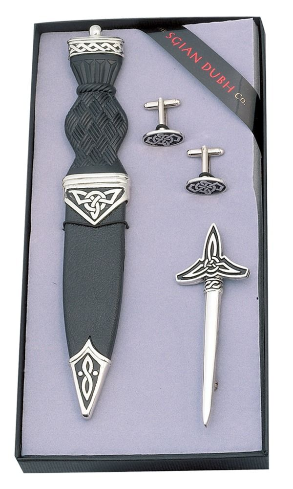 Celtic 3 Piece Gift Set With Plain Top