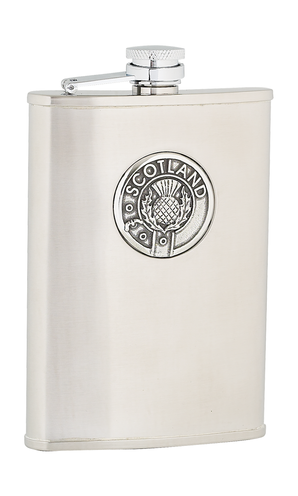 8oz Scotland Stainless Steel Flask
