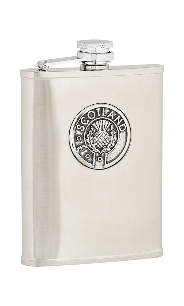 6oz Scotland Stainless Steel Flask