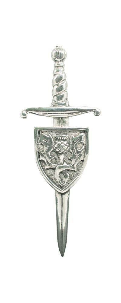 Sword & Shield Kilt Pin