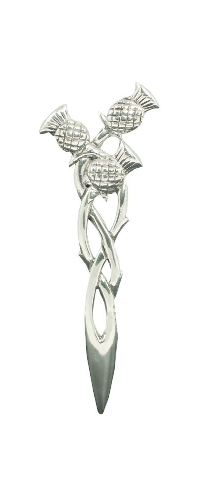 Three Scottish Thistles Kilt Pin