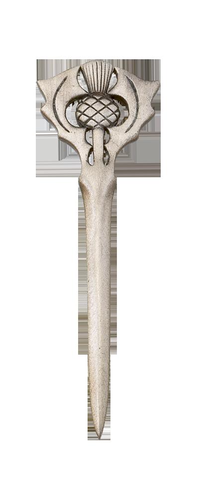 Scottish Thistle Matt Kilt Pin