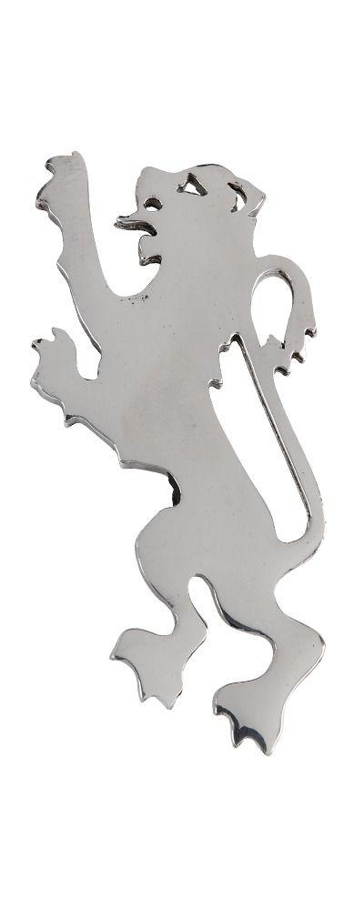Modern Lion Rampant Kilt Pin