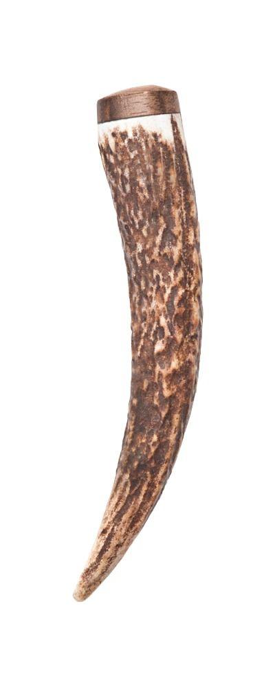 Staghorn Walnut Kilt Pin