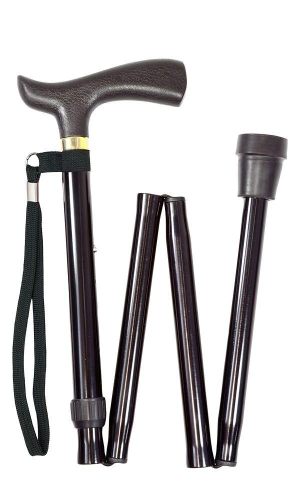 Black Folding Stick