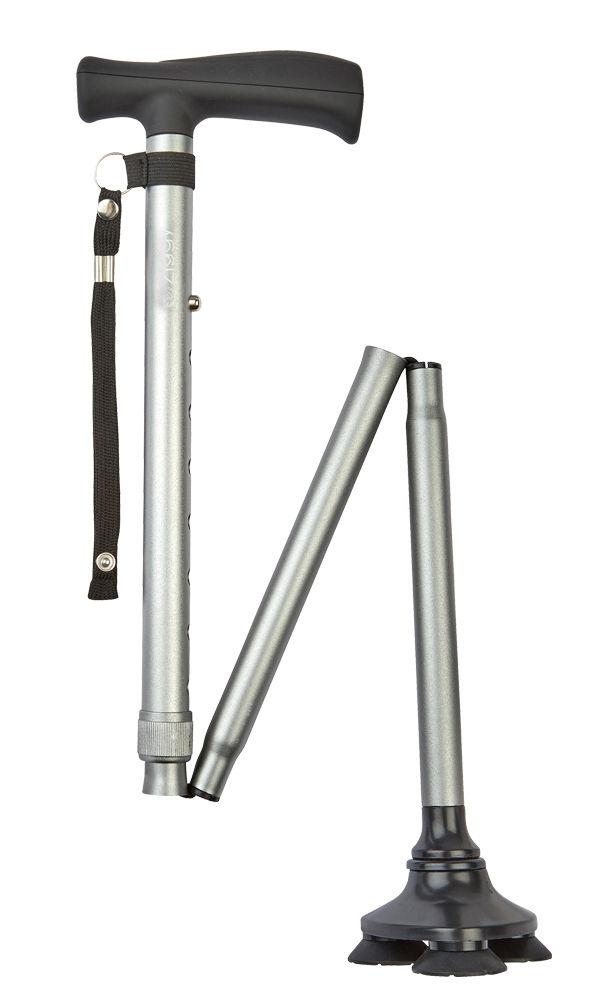 Ziggy Tribase Folding Stick - Grey