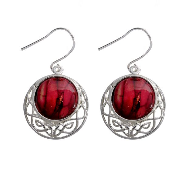 Cormag Celtic Earrings