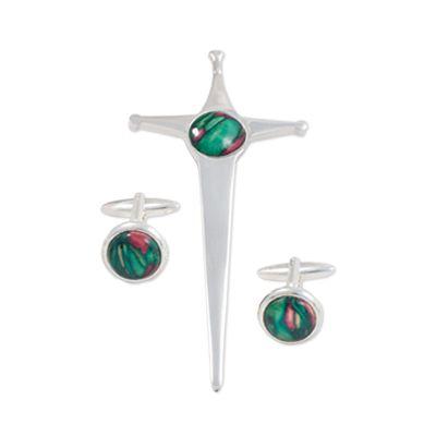 Kilt Pin & Cufflink Set