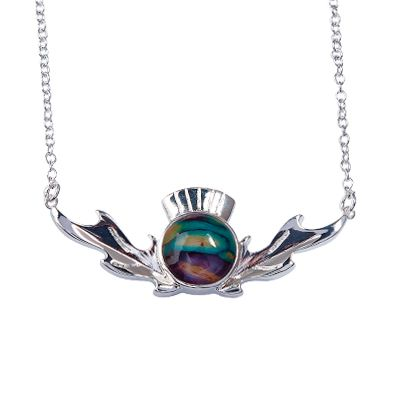 Thistle Necklace