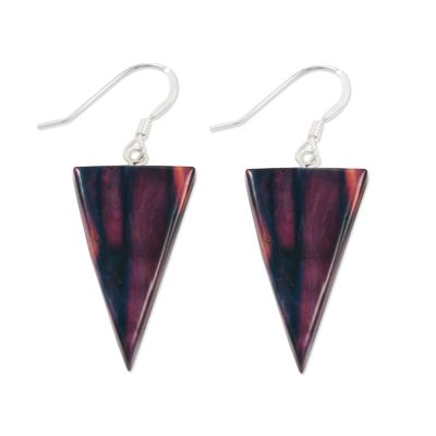 Triangle Heather Earrings