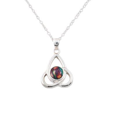 Celtic Tripple Knot Silver Pendant