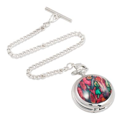 Heathergem Quartz Pocket Watch