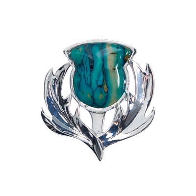 Brora Thistle Brooch