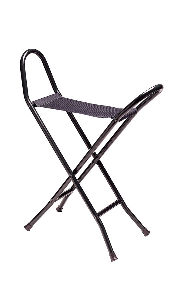 Black Canvas Seat Stick (long)