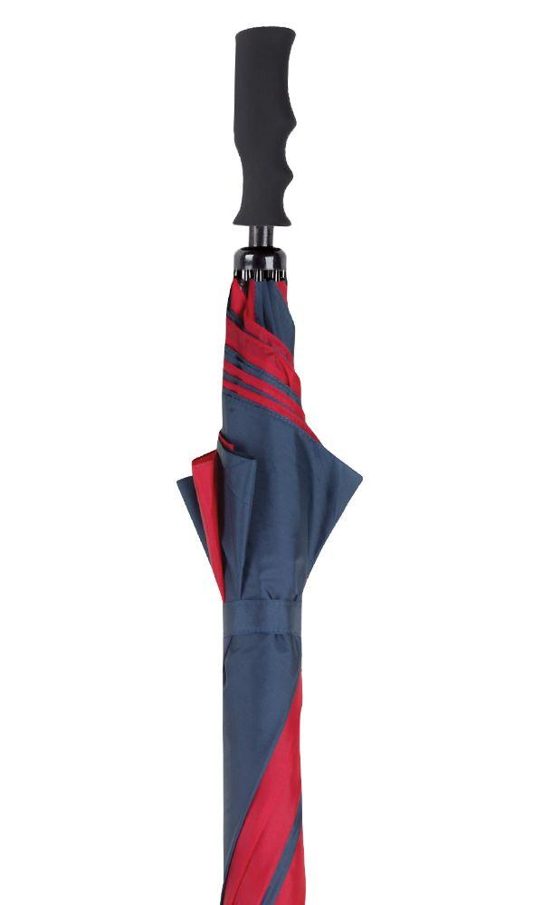 Blue/Burgundy Golf Umbrella