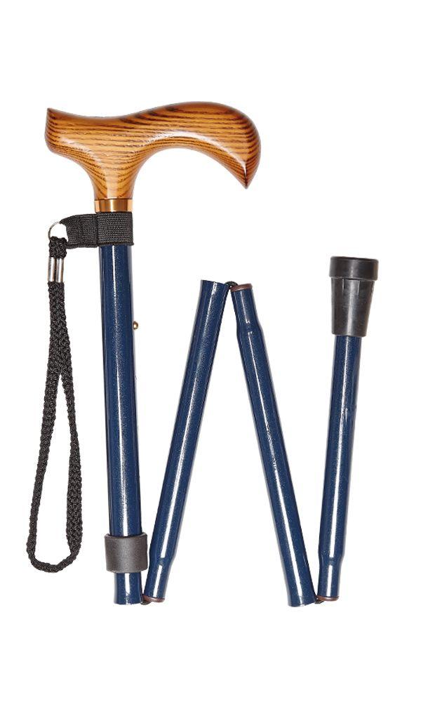 Blue Folding Stick