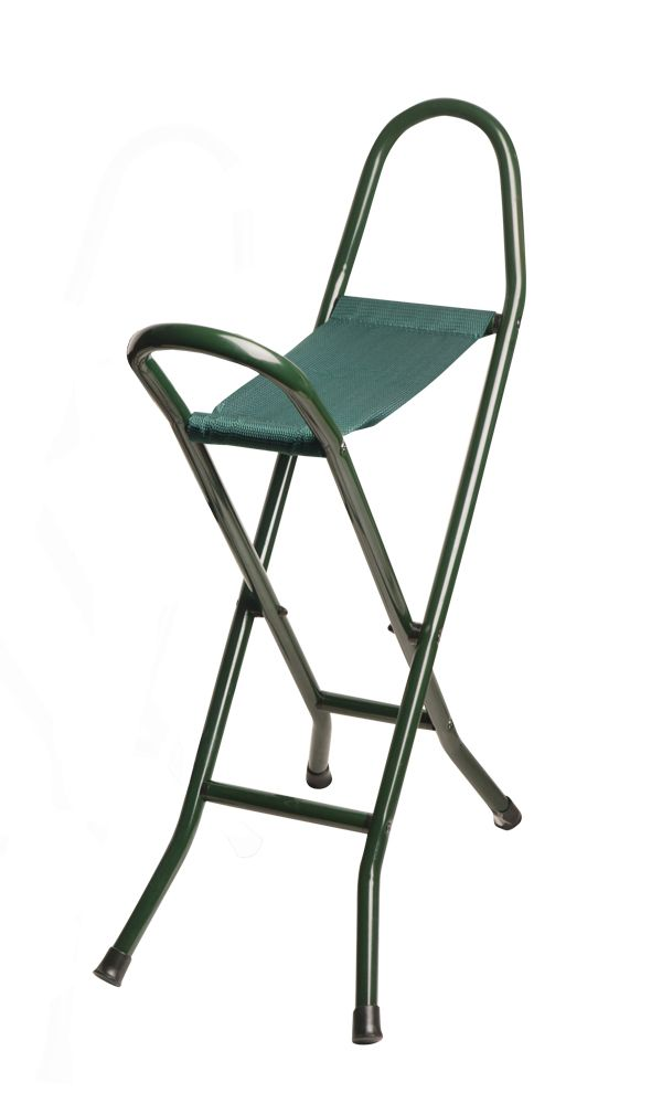 Green Canvas Seat Stick