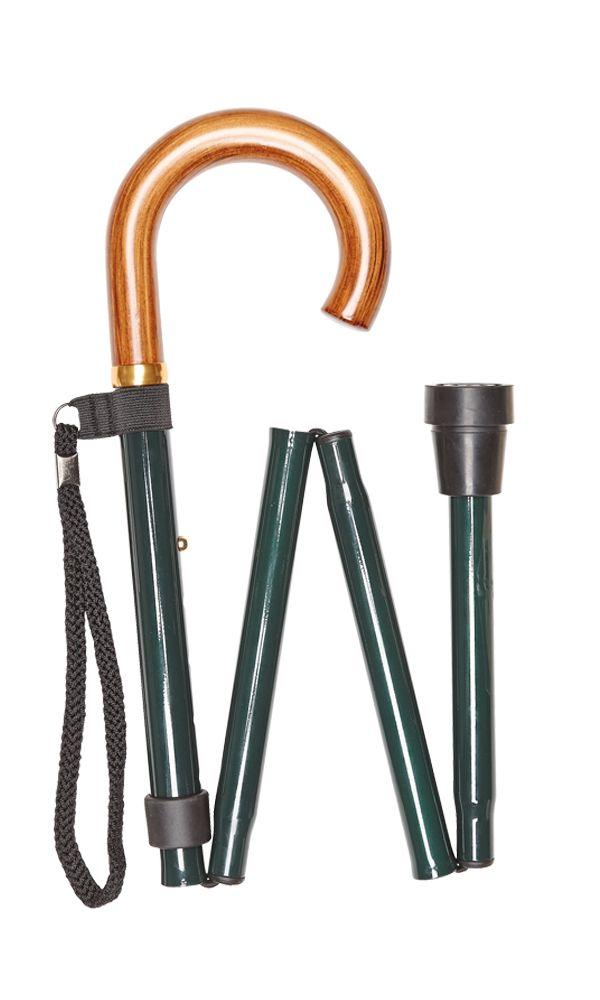 Green Folding Stick