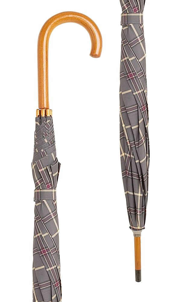 Byers Tartan Crook Umbrella x 10