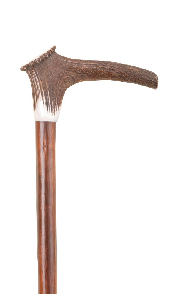 Staghorn Crown Handle Stick