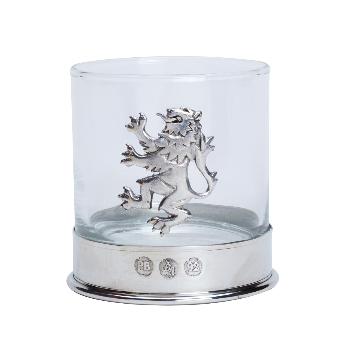 Lion Rampant Whisky Glass