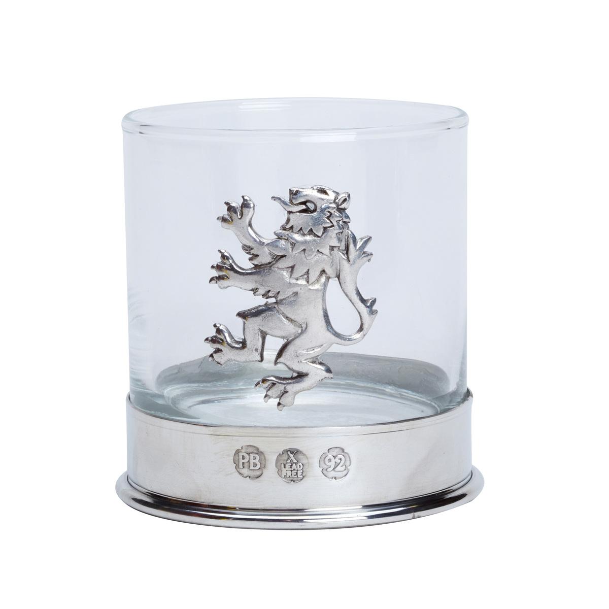 Lion Rampant Whisky Glasses - Pair