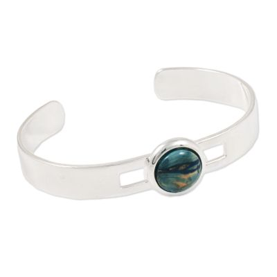 Wide Wire Bangle