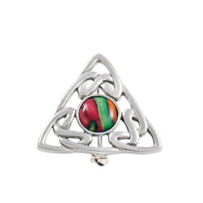Celtic Triple Knot  Brooch