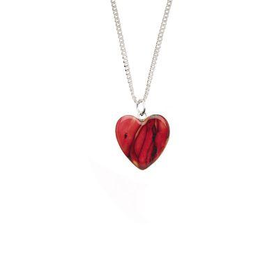 Wee Heart Heather Pendant